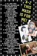 Charcoal Mask info 2