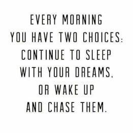 Chase Dreams quote pic