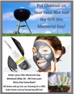 Memorial Day Charcoal mask special